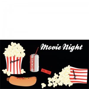 Typical movie food