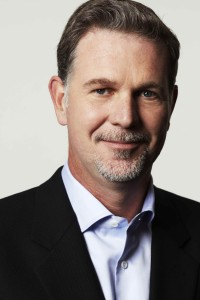 Netflix founder and chief executive officer - Reed Hastings